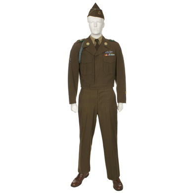 Army Winter Service Uniform 1953 Eastern Costume A Motion Picture Wardrobe