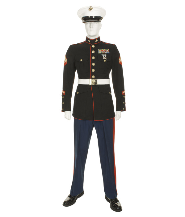 "USMC ENLISTED BLUE DRESS ""B"" 