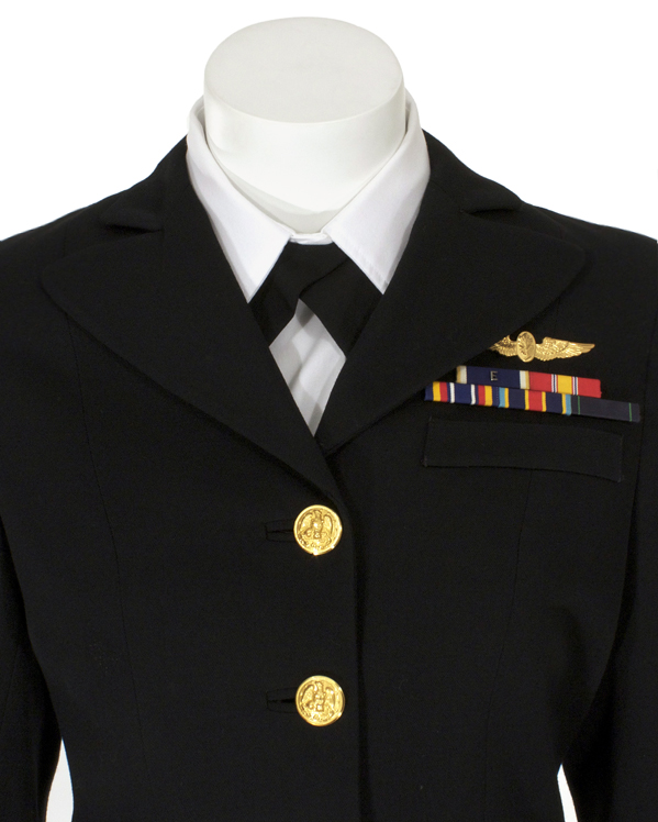 Navy Female Officers Service Dress (Blue) | Eastern Costume