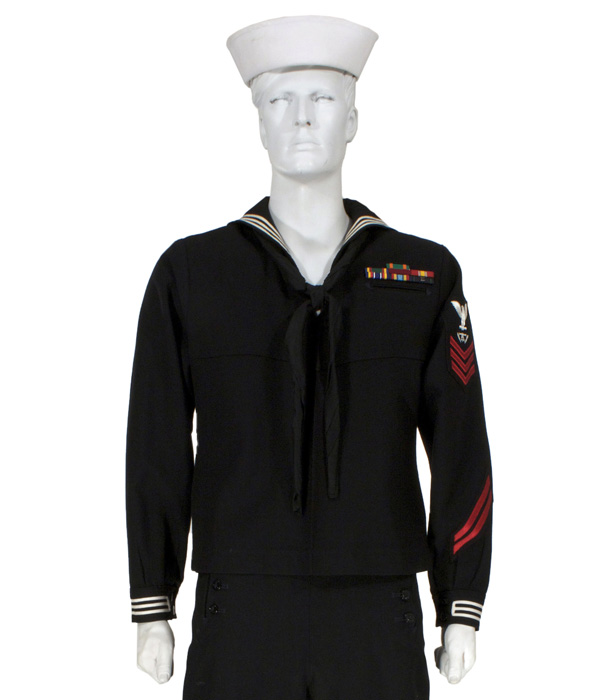 Navy Uniforms: Navy Enlisted Dress Uniform Blue