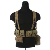 WWII U.S. Army Belt Equipment w/ Haversack
