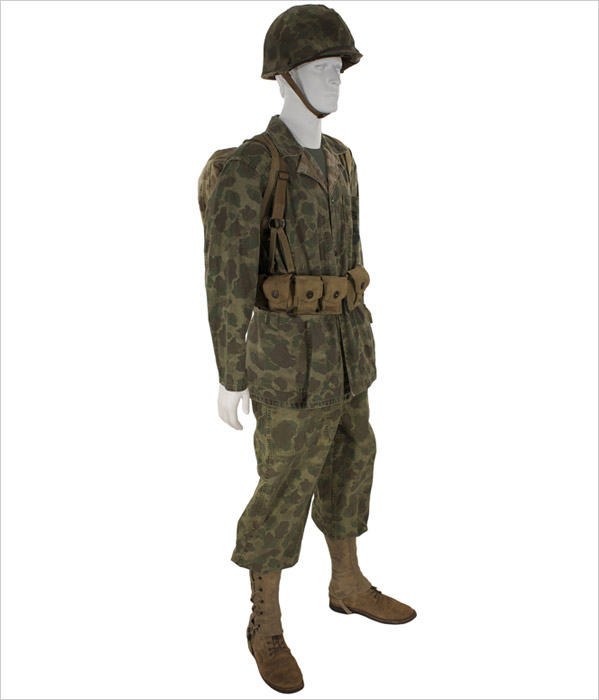 Click on thumbnail for a blowup view. & U.S. Marine Camouflage Combat | Eastern Costume : A Motion Picture ...