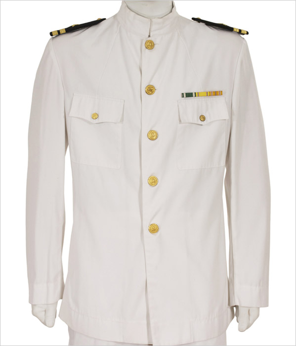 Us Navy Officers Dress White Uniform Eastern Costume A Motion